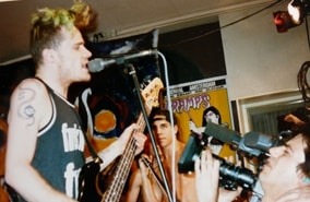 Red Hot Chili Peppers. Gewoon in een kleine studio in Hsum (1990)