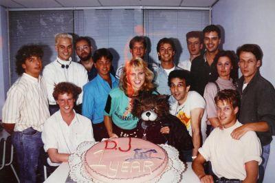 Linda de Mol in de DJ Katshow (1987)