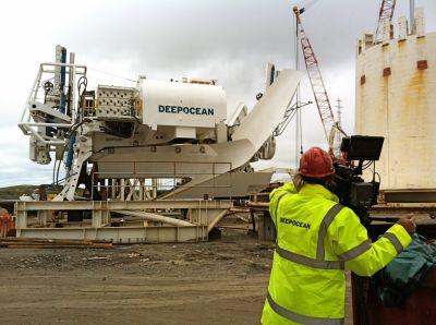 DeepOcean opnames in de UK