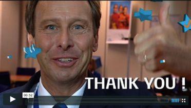 KLM 1 million Facebook fans